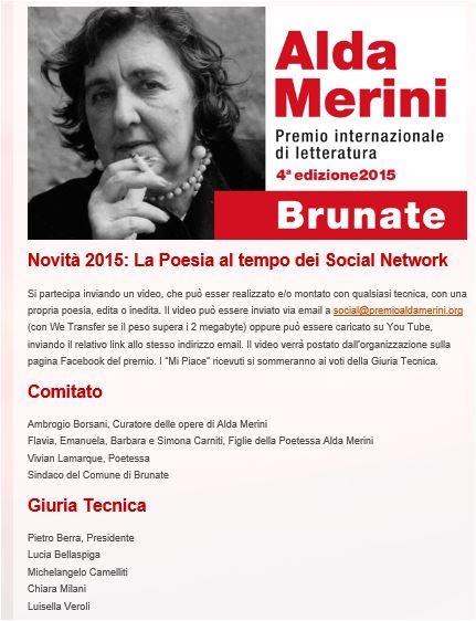 Premio Alda Merini 2