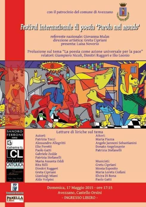 Festival Internazionale di Poesia Parola nel mondo
