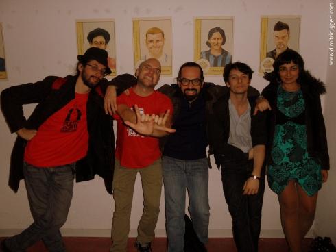 Sergio Garau, Davide Scarty Doc Passoni, Dimitri Ruggeri, Alfonso Maria Petrosino e Francesca Gironi