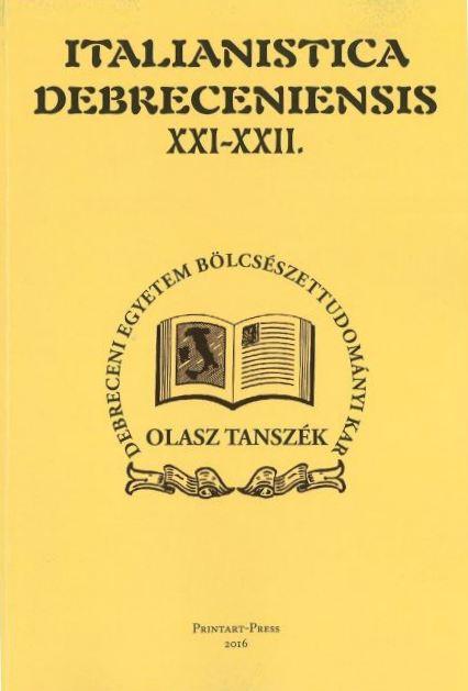Italianistica Debreceniensis