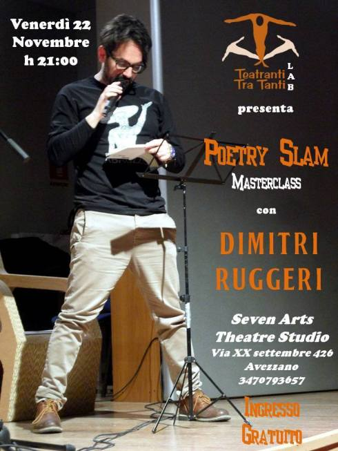 Poetry Slam Master Class_Dimitri Ruggeri